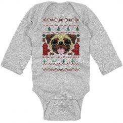 Pugly Christmas Bodysuit