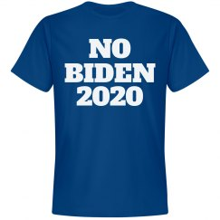 Joe, er, No Biden 2020