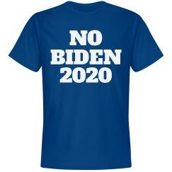 Joe, er, No Biden 2020