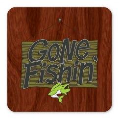 Gone Fishin' Magnet