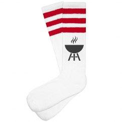 Hot Foot Socks (Red)