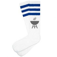 Hot Foot Socks (Blue)