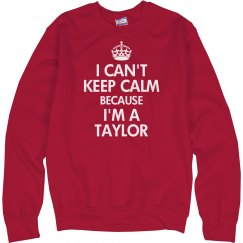 I can't keep calm Taylor