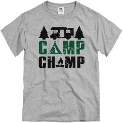 Camp Champ Adult Unisex Basic Tee