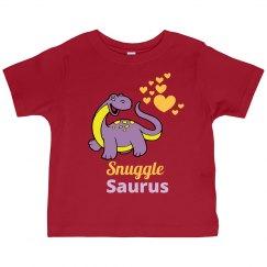 Snuggle Saurus Kids Dinosaur Shirt