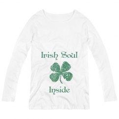 Irish Sould Inside St Patricks Maternity Top