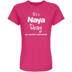 It's a naya thing