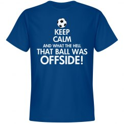 Keep Calm Football Shirt