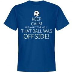 Keep Calm Football Shirt