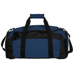 Navy Blue Gym Dufflebag