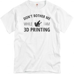 While I Am 3D Printing