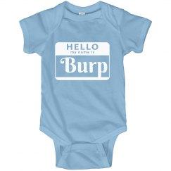 Hello my name is Burp