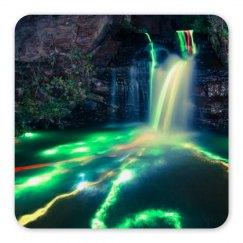 Neon Waterfall Magnet