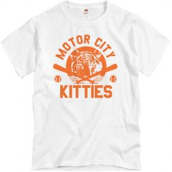 Motor City Kitties Baseball Tee