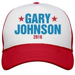 Gary Johnson 2016 Hat