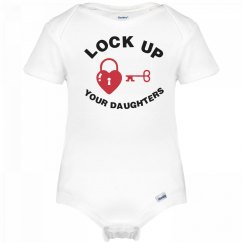 Key And Lock Onesie
