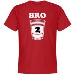 2 Drunk Bro Matching Tees