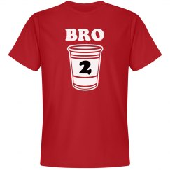 2 Drunk Bro Matching Tees