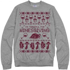 Wine And Ugly Sweaters