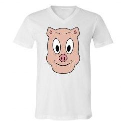 Pink Pig Mask Shirt