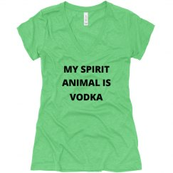 Spirit Animal Is Vodka