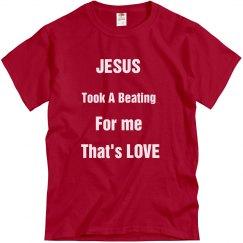 Jesus Took A Beating