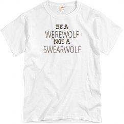Wearwolf not a Swearwolf