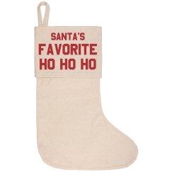 Santa's Favorite Ho Ho Ho