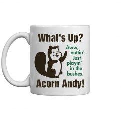 Acorn Andy Buries Nuts