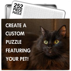 Create A Puzzle Featuring Your Pet