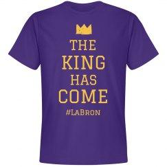 LA Bron The King Has Come