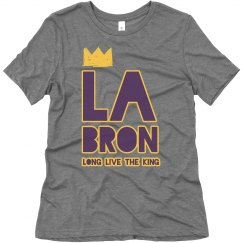LA Bron King James Los Angeles