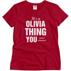 It a Olivia Thing