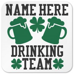 Custom St Patty Drinking Gear