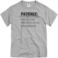 Patience Definition