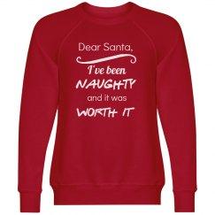 Dear Santa, I have been Naughty