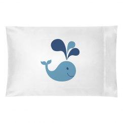 Whale Pillowcase