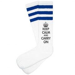 Keep Calm Carry A Sock