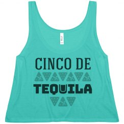 Cinco De Tequila Neon Crop