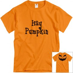 Hay Pumpkin