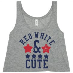 One Red White Cutie