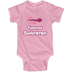 Fastest Swimmer Girl