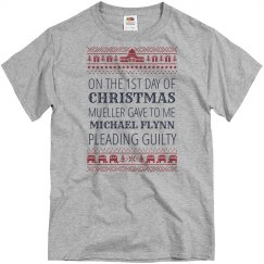 Flynn Against Trump Xmas Sweater