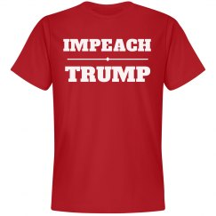 Impeach Trump Big Bold Text