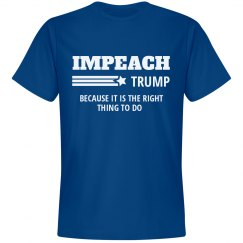 Impeach Trump Because It's the Right Thing To Do
