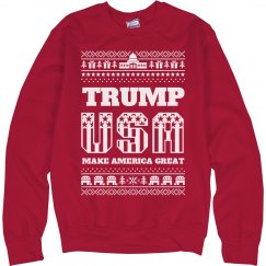 Trump The USA Sweater