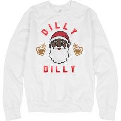 Dilly Dilly Drunk Santa