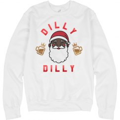 Dilly Dilly Drunk Santa
