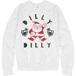 Dilly Dilly Santa Sweatshirt