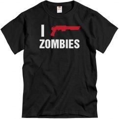 I Love Zombies Shotgun